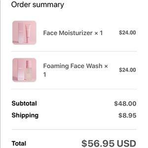 Kylie Cosmetics Makeup - Kylie Skin - Face Wash & Vitamin C Serum Set